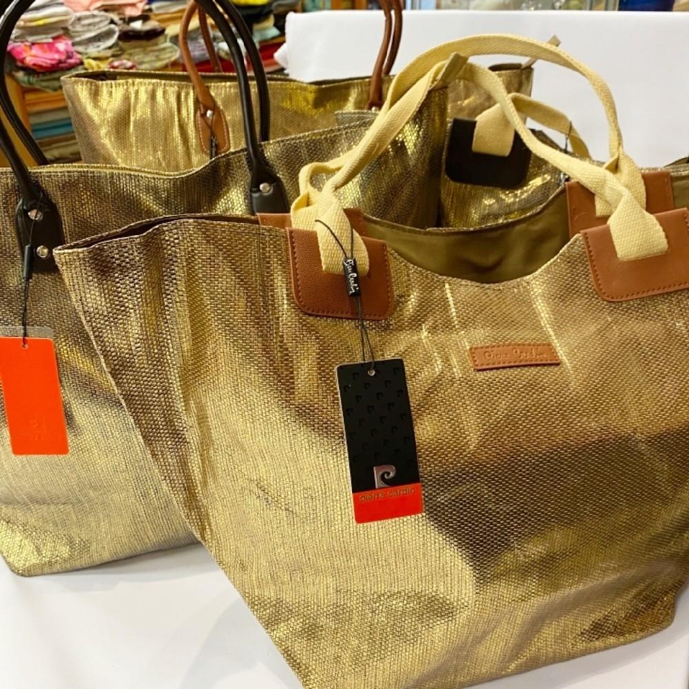 taška zlatá