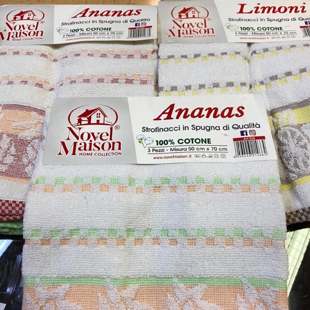 utěrky vaflové sada3ks 50x70cm 100% bavlna