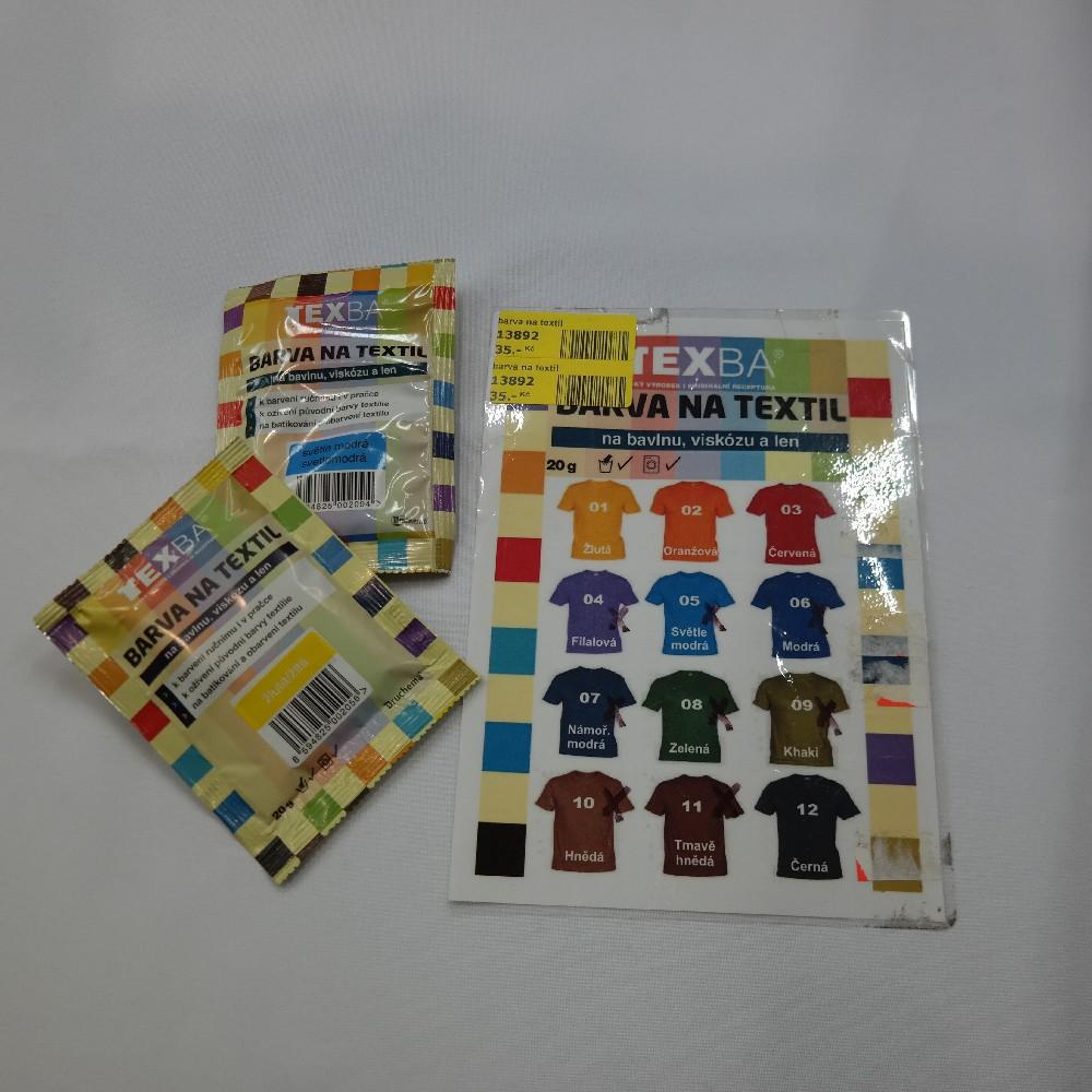barva na textil