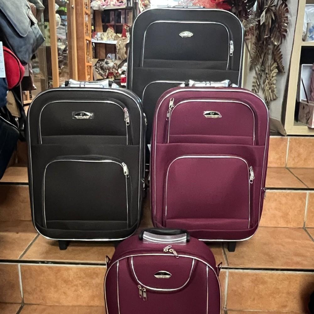 kufr látkový střední
