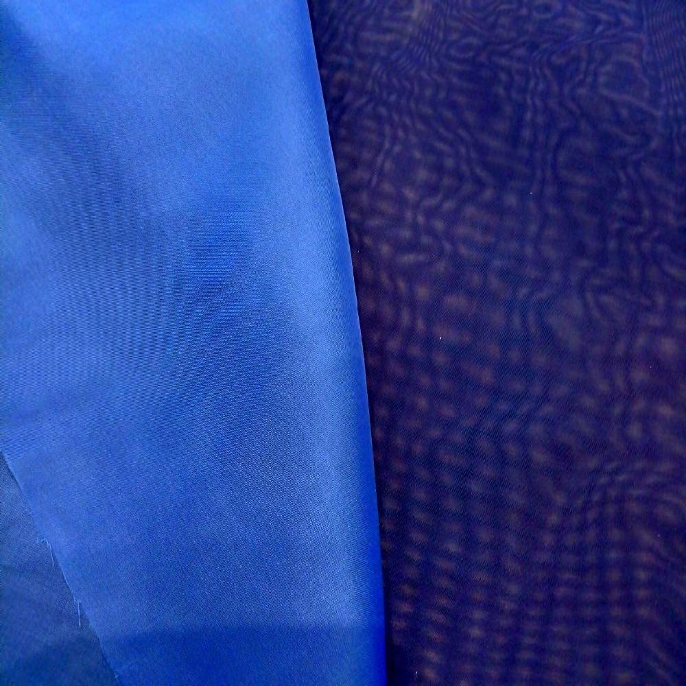 záclona voál V1007/150 modrý