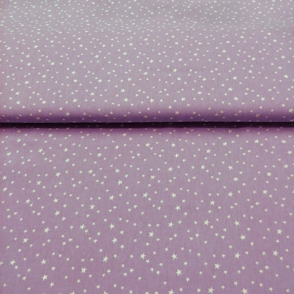 bavlna fial./hvězdičky 150cm ba