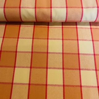 bavlna W 28917/150 žl.oran.kostka š.150