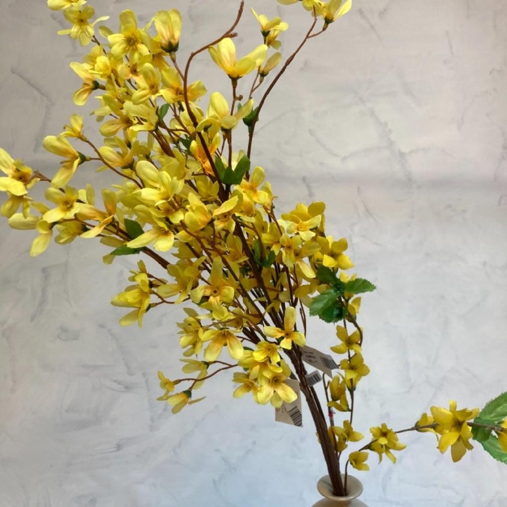 květina umělá zlatý déšť