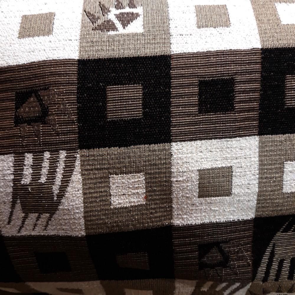 pot.žin. hnědo-béžové kostky vzory