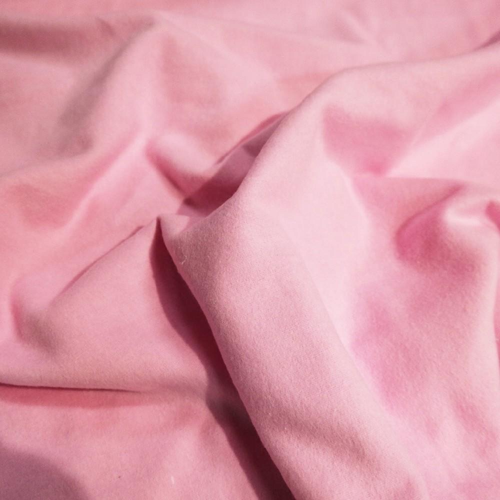 flanel růžový