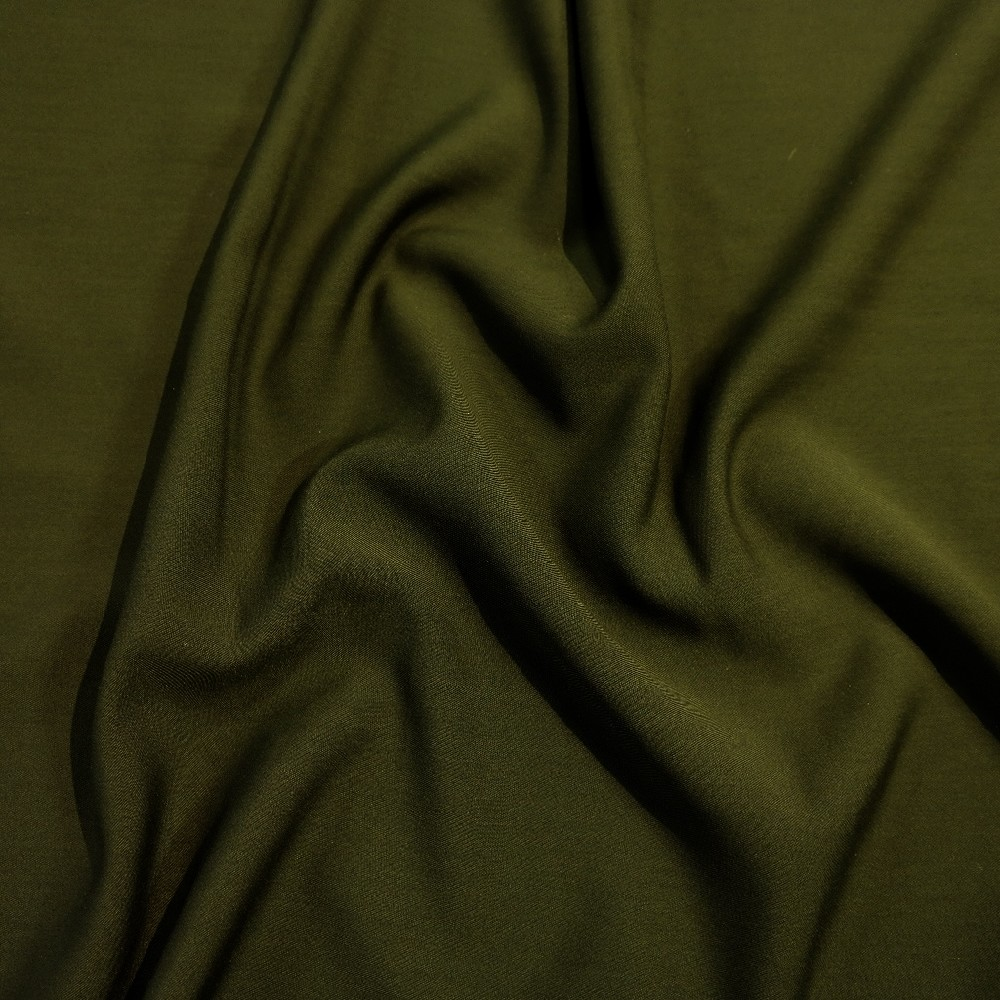 bavlna oděvní tm.zelená