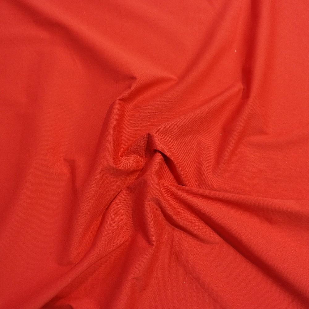 bavlna oděvní červená elasten