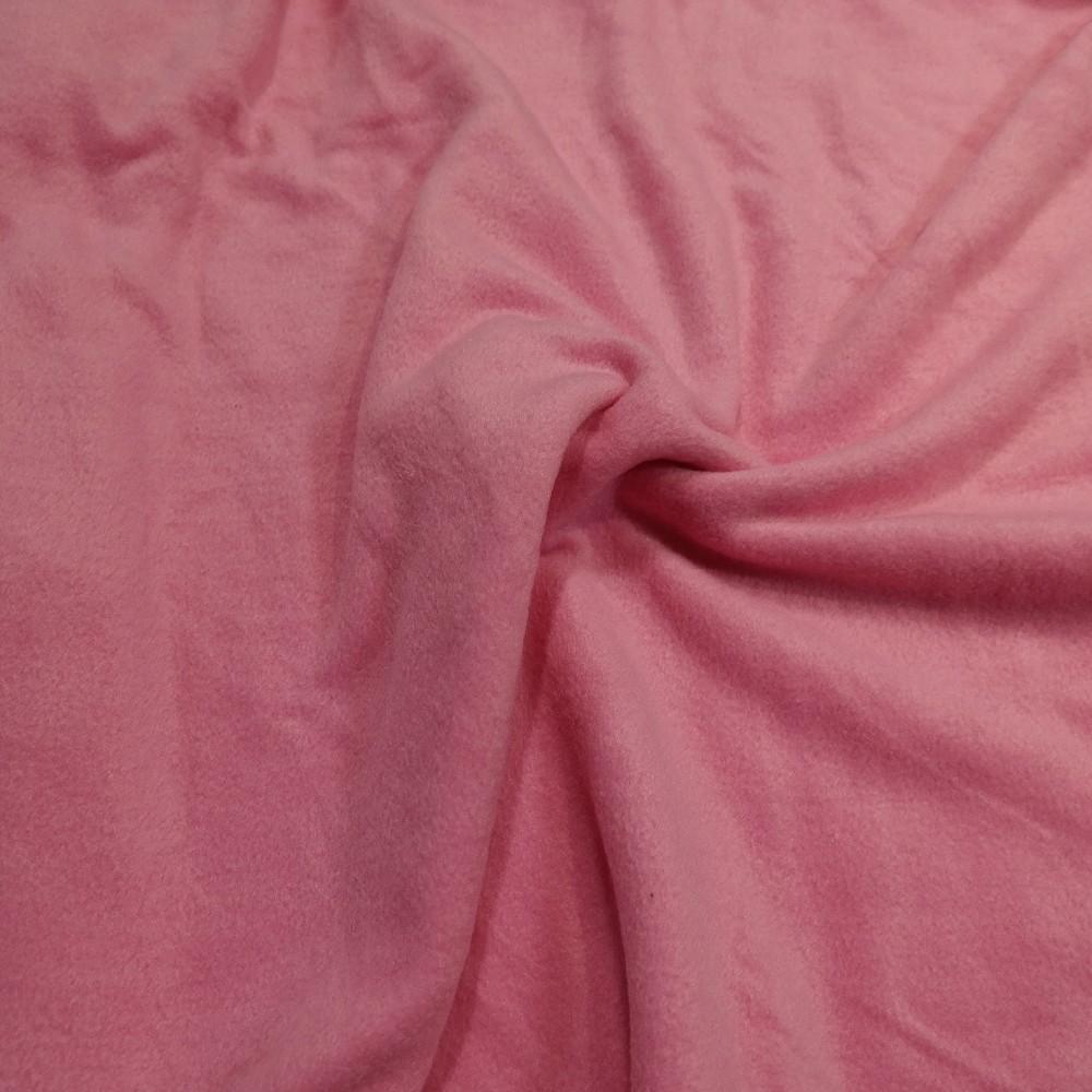 fleece růžový