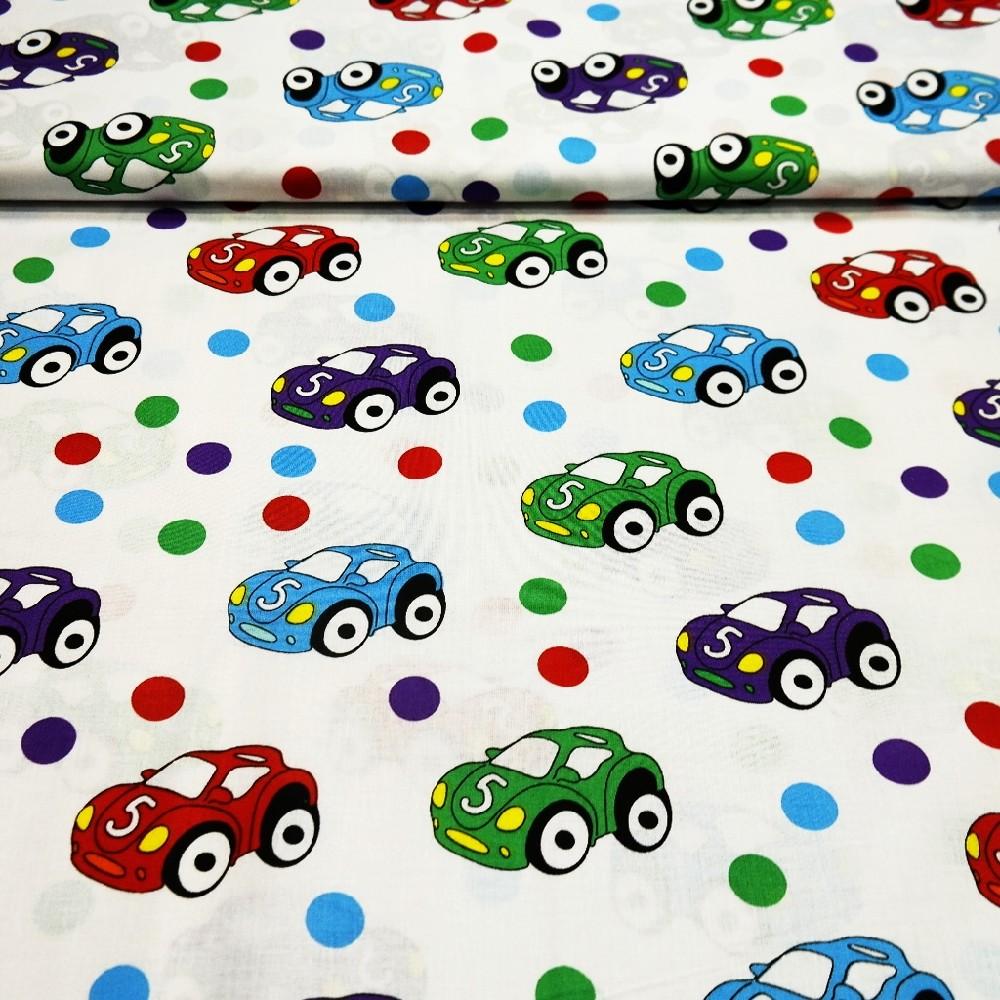 bavlna barev. auta