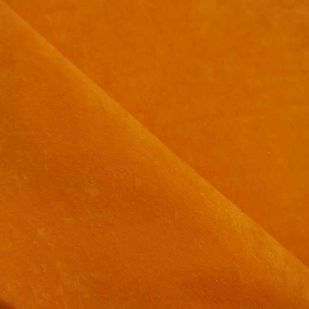 pot.microplyš oranžová