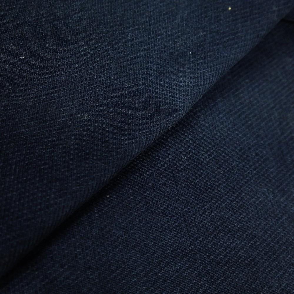 pot. modrá bavlna se sametovou úpravou