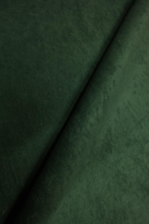 pot.microplyš lahvově zelená ALCANTRA