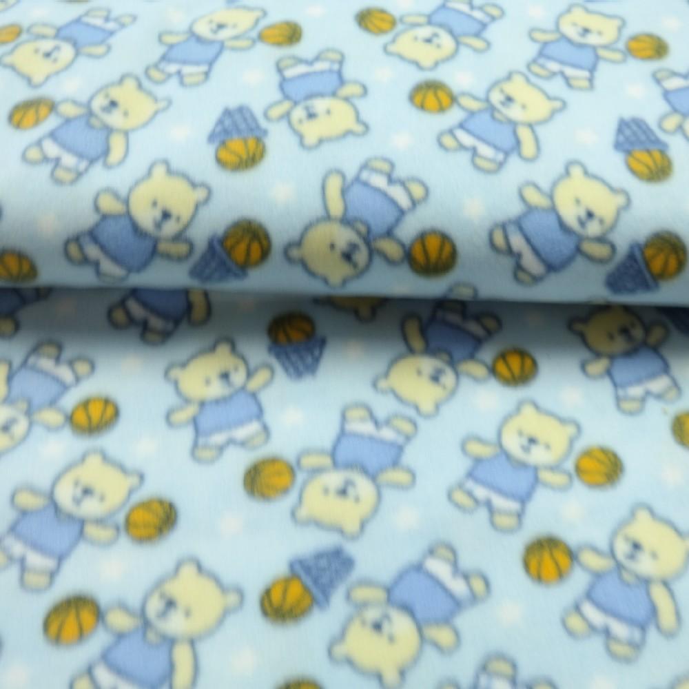 mikroplyš sv.modrý medvídek