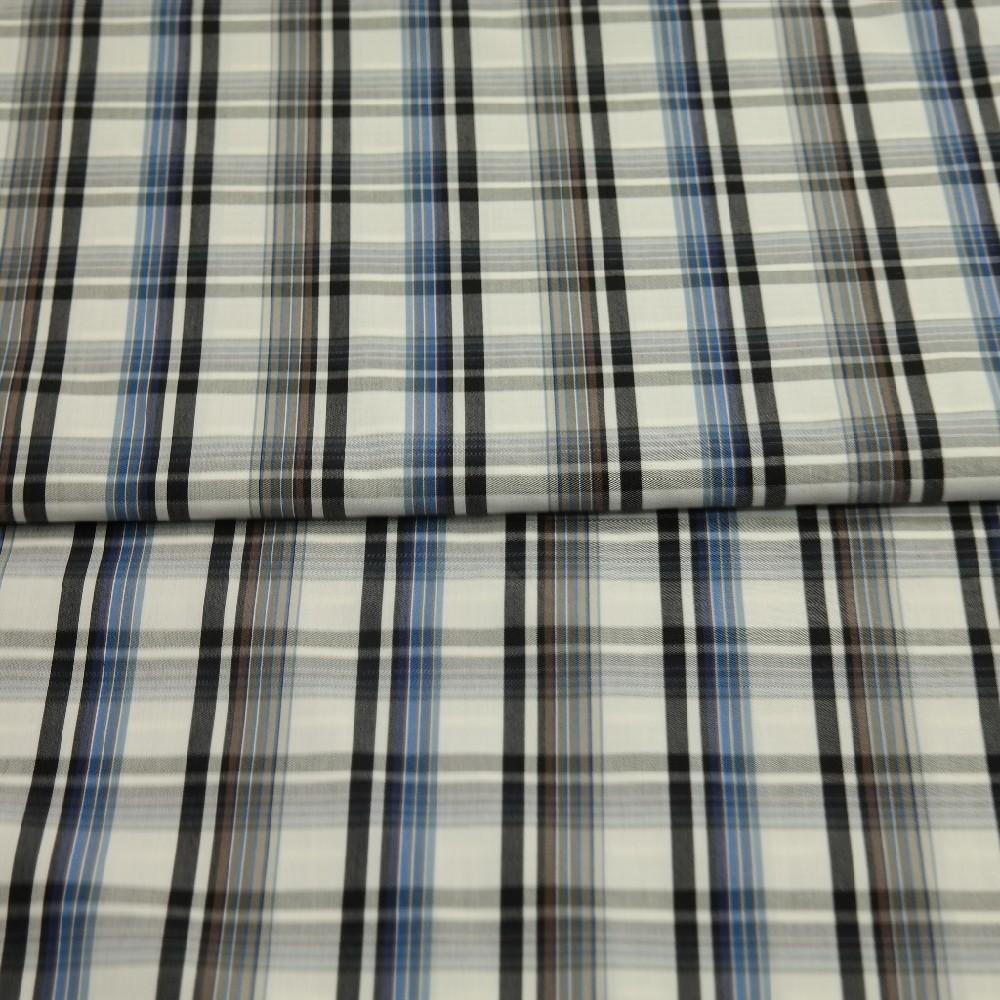 košil. modro/černá kostka