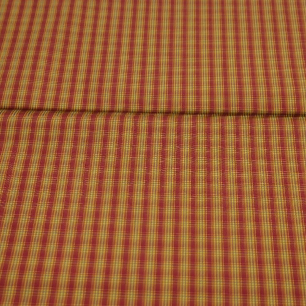 košil.bordo/žluto/fial. kostka