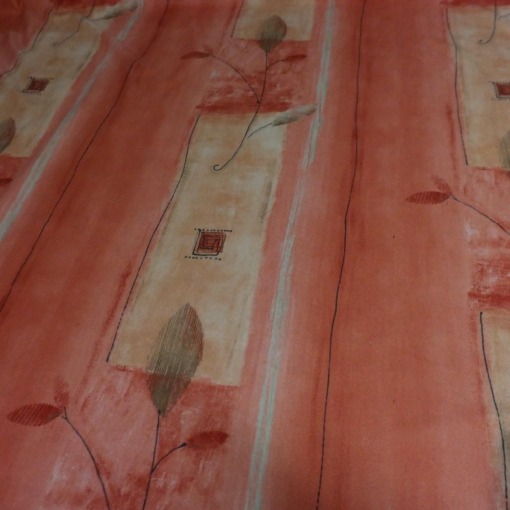 pot. microplyš oranžovo-žlutév list