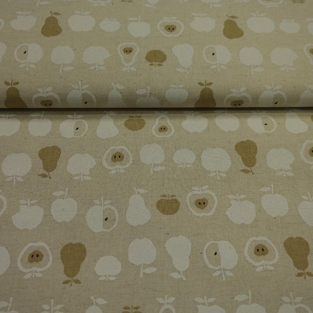 bavlna režná jablka a hrušky š.110