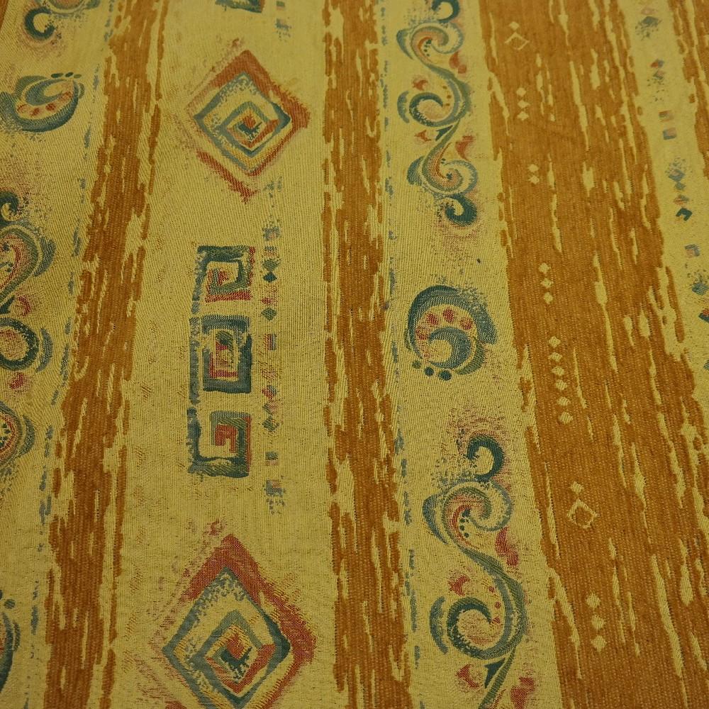 pot.žinylka žlutý-oranžový  abstr.vzor