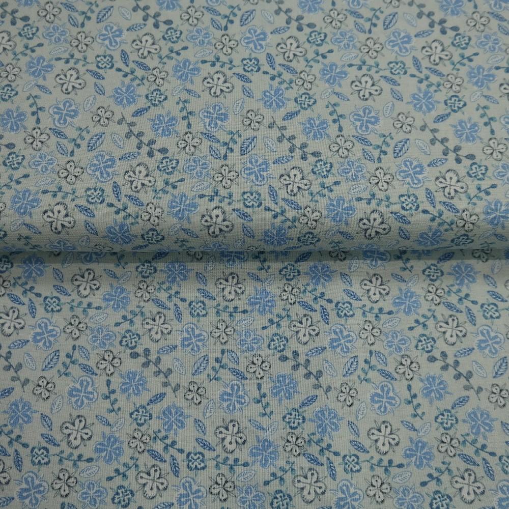 bavlna sv. modrá kvíkek