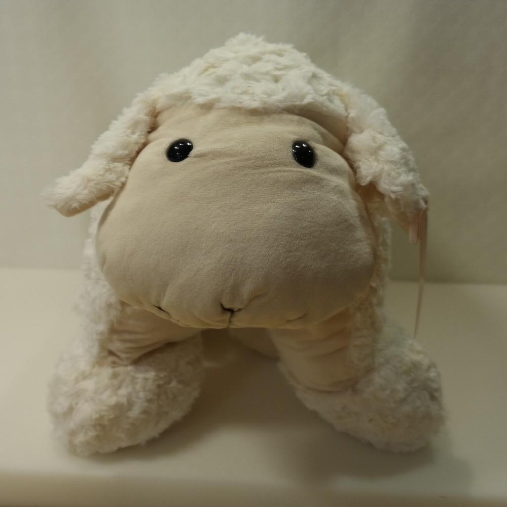 Plyšák ovce knoflík