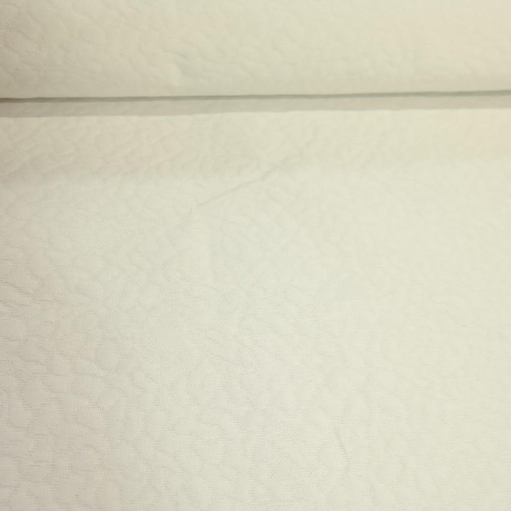 potahovka bílá vytlačovaný vzor (matracovina)