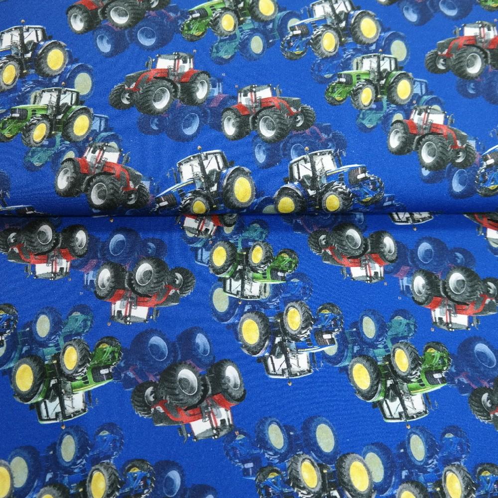 teplákovina modrá traktory BA/ELAS
