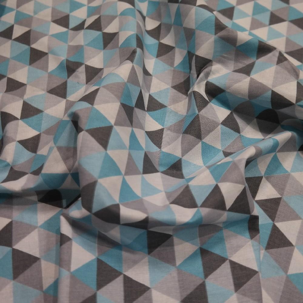 bavlna tyrk/š/b trojúhelničky