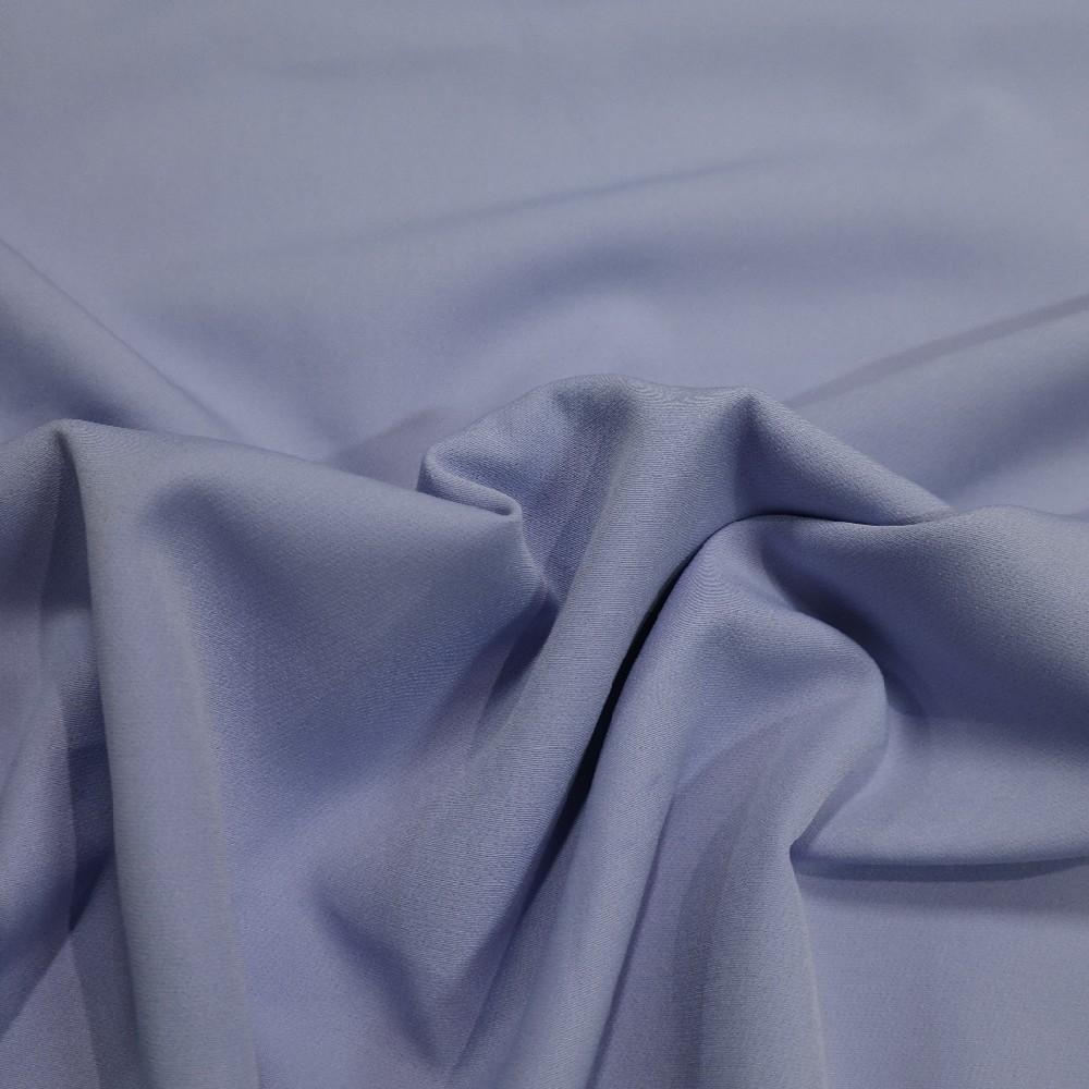 kostýmkový polyester splývavý světle fialový