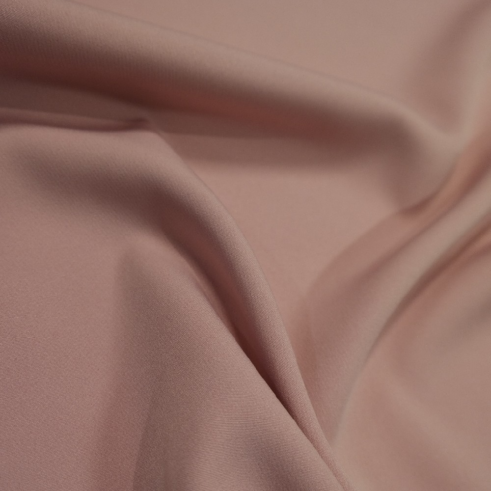 polyester starorůžový