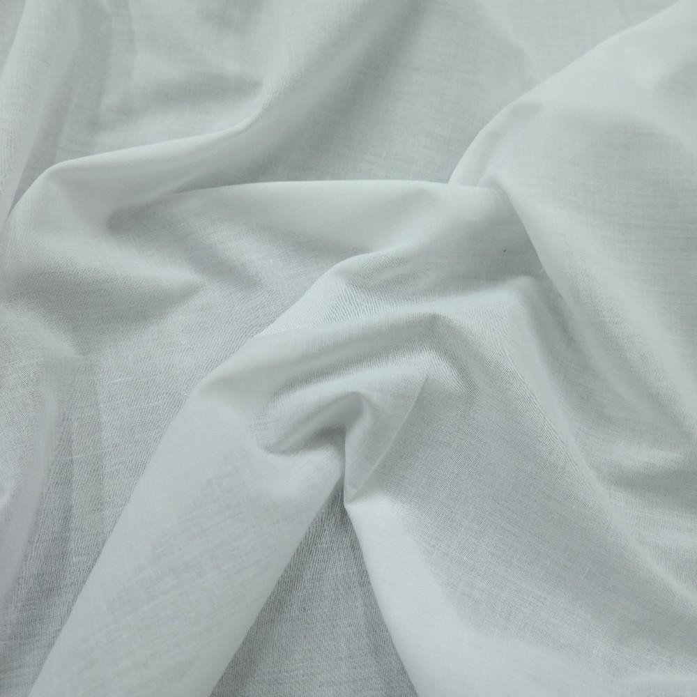 bavlna jemná mimi bílá