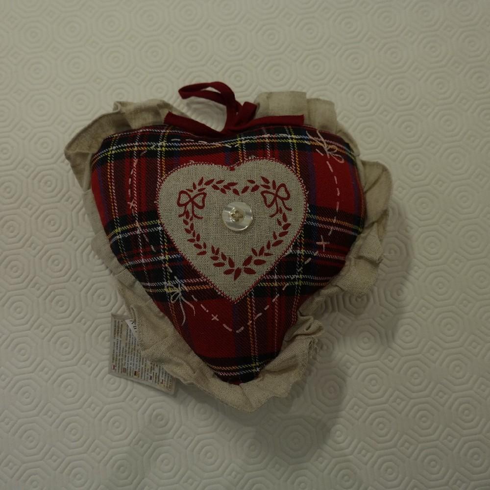 polštářek srdce 20cm