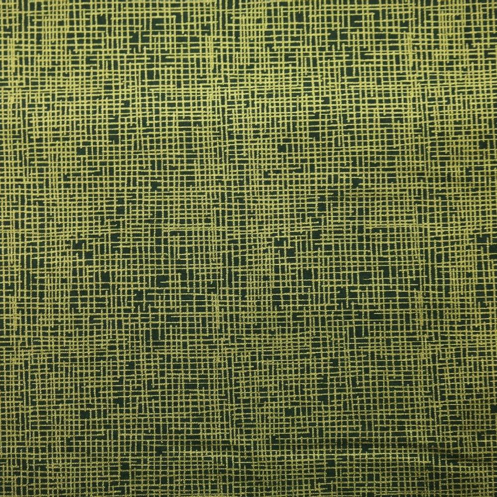 bavlna zel.zlatý vzor