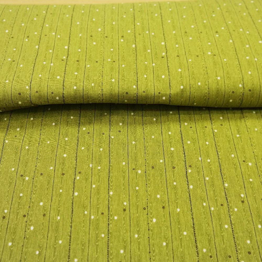 bavlna zelená parkety
