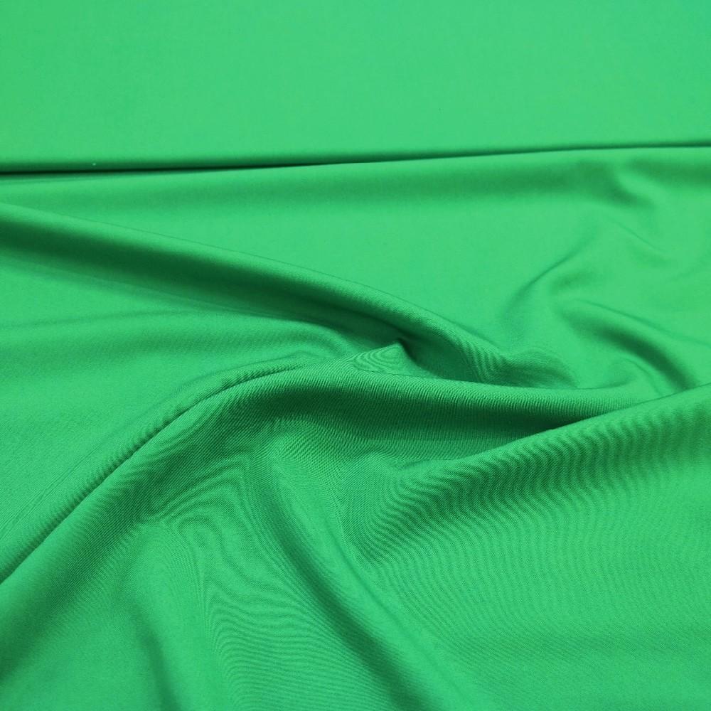 bavlna elast.trávově zelená