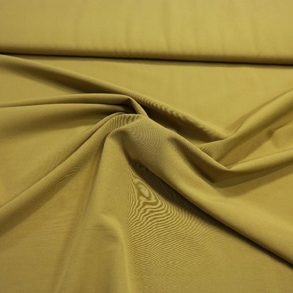 bavlna elast.tm.hořčicová