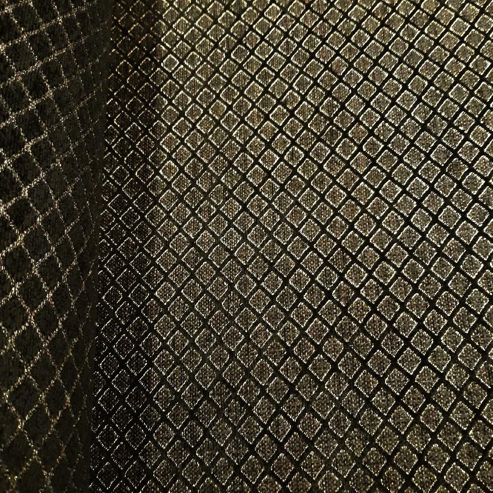 potahovka černá zlatý vzor