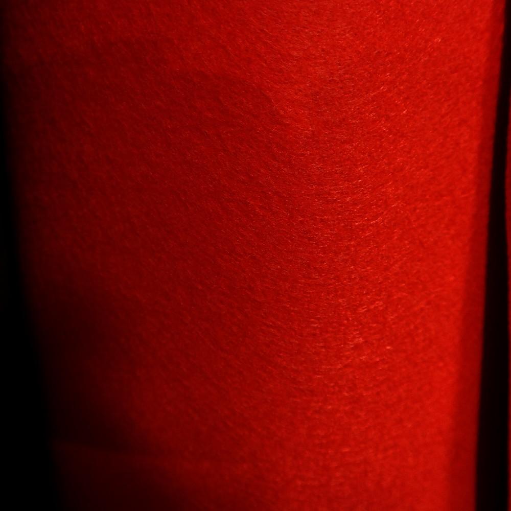 filc červený tl.2mm š.160
