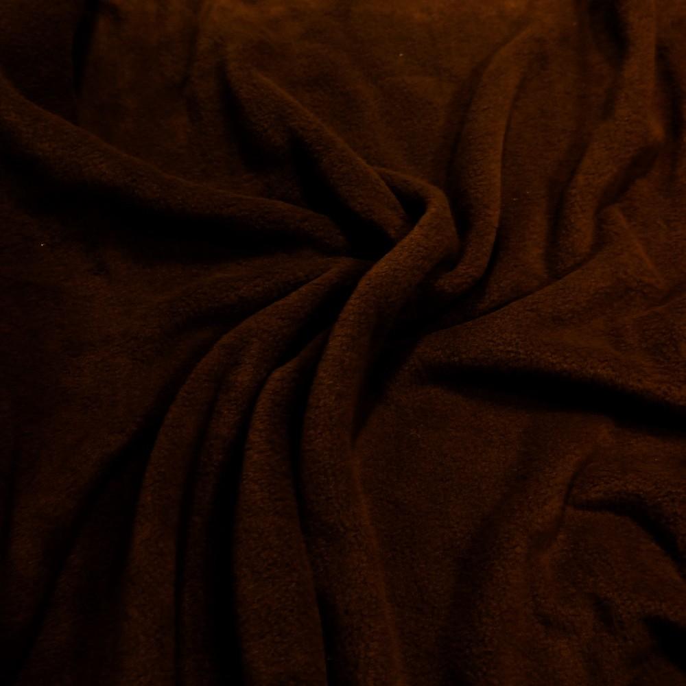 fleece čoko hnědý
