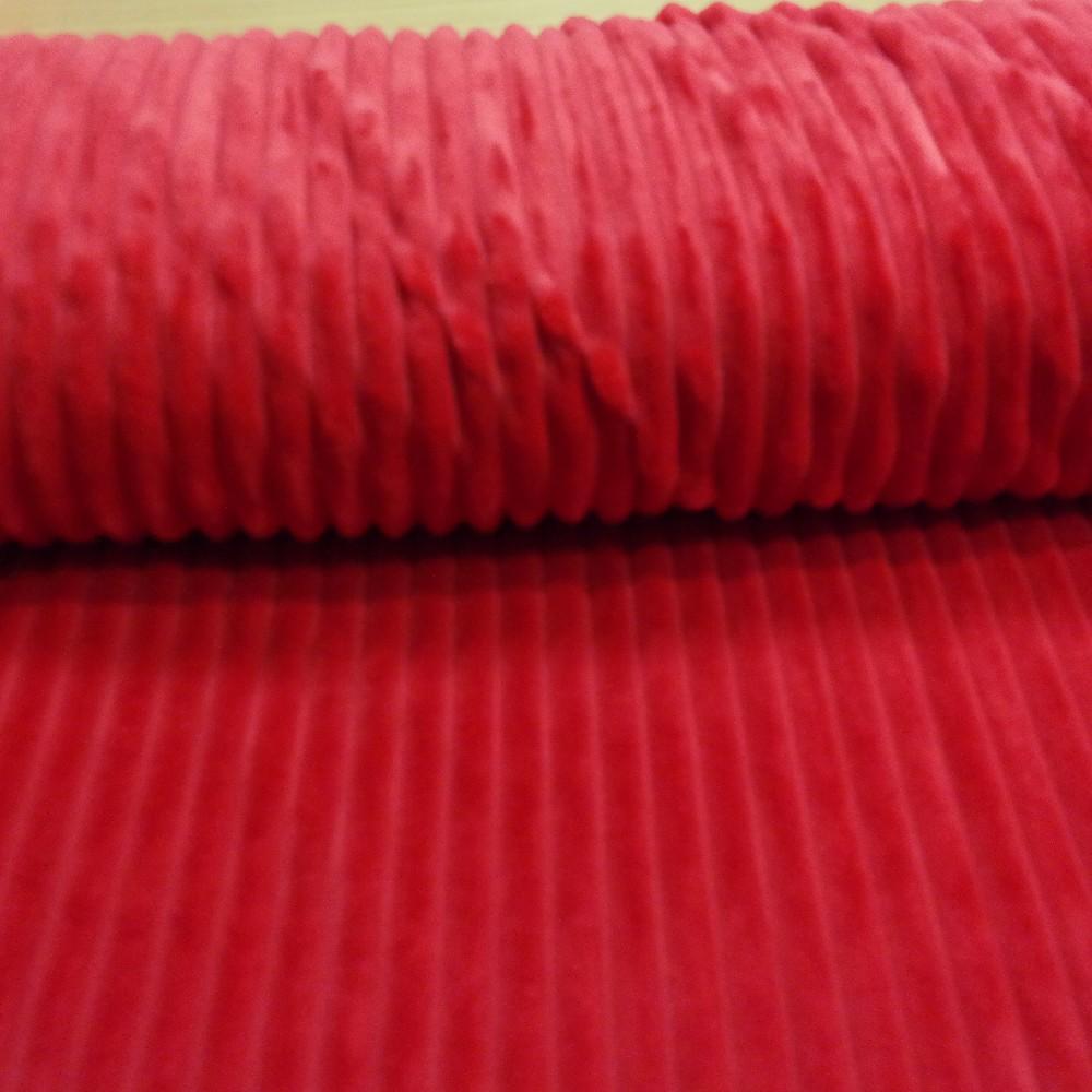 minky červené pruhy