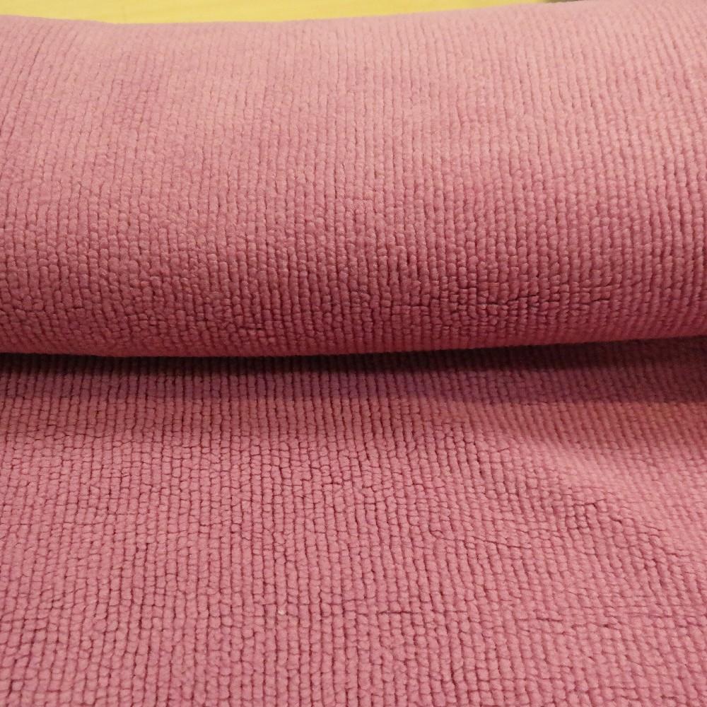 fleece fialový řádkový