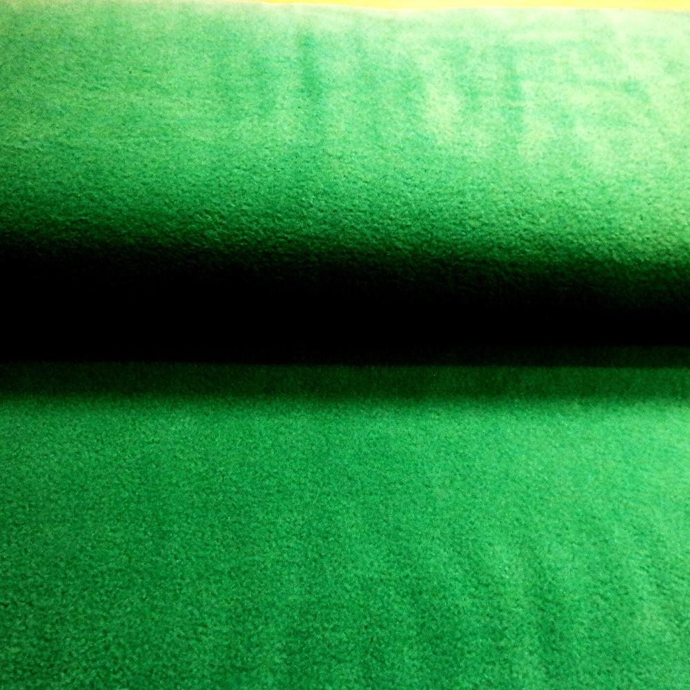 fleece zelený