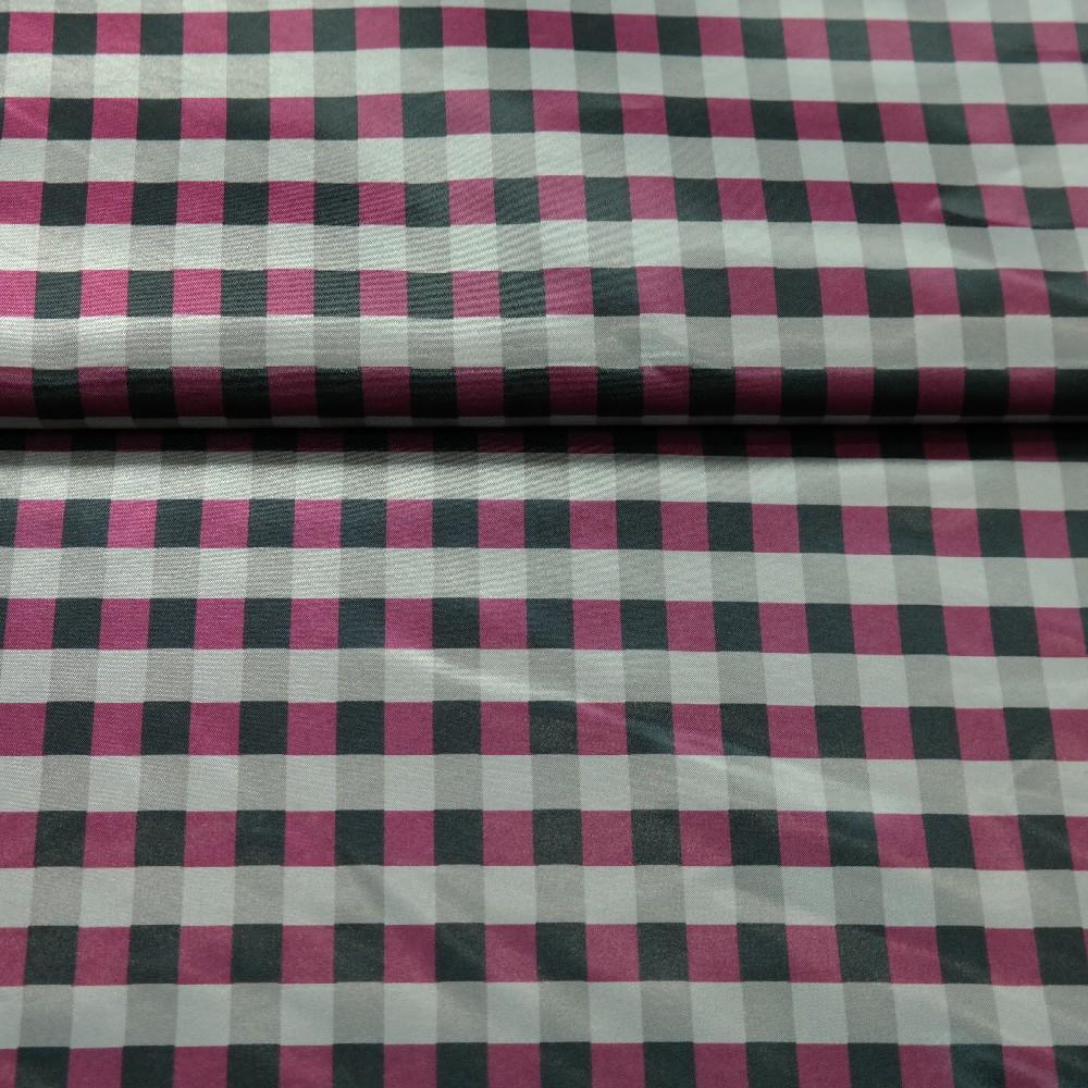 plášťovka fialovo/šedá kostička