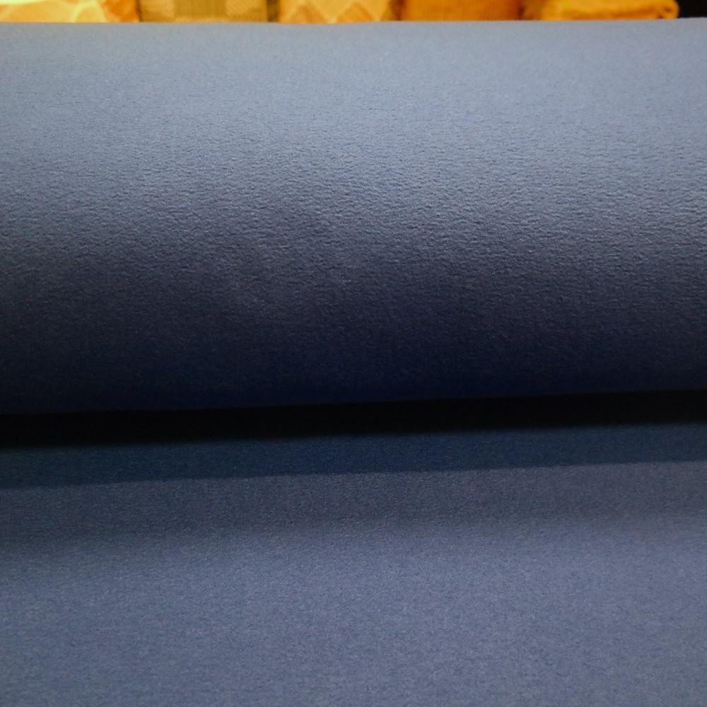 fleece šedo/modrý