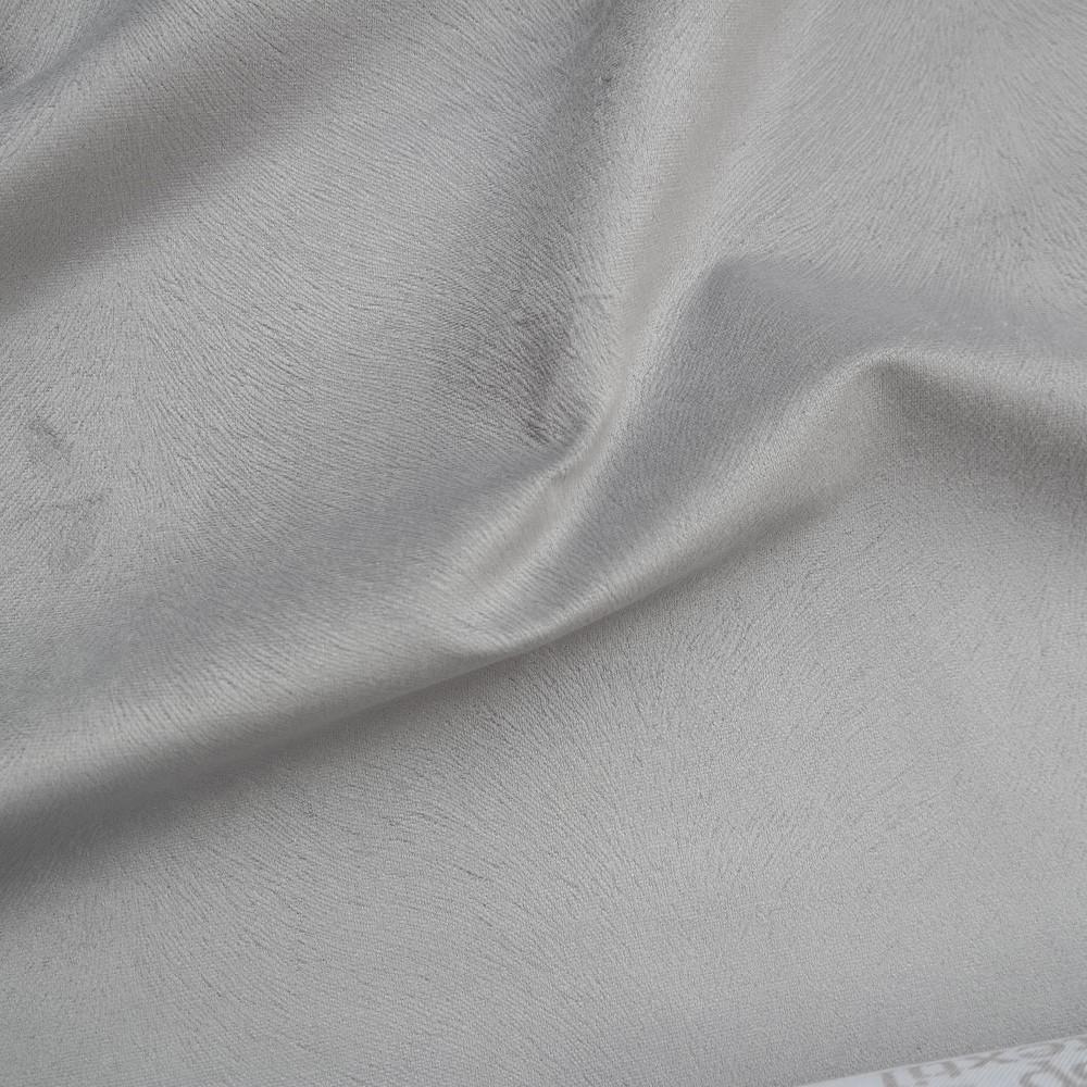 potahová látka sv. šedé vrásnění jednobarevná