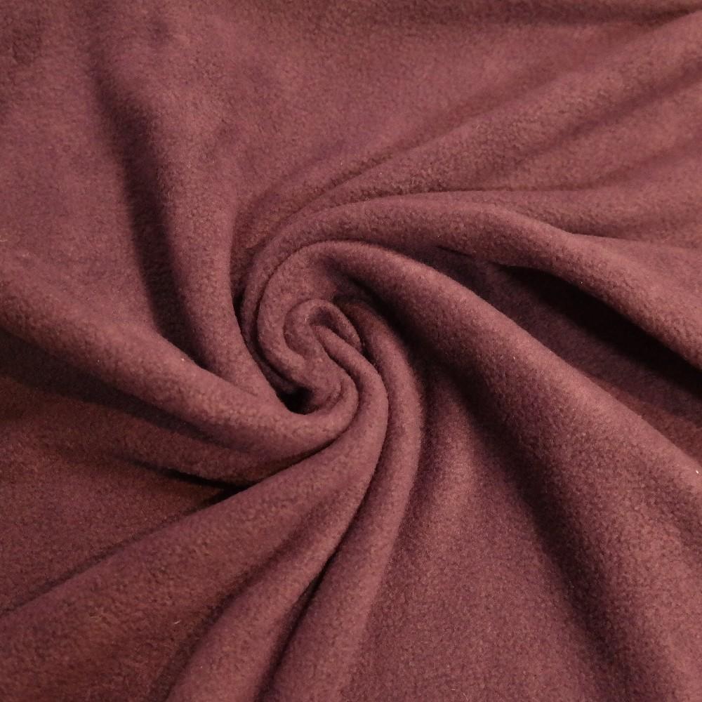 fleece fialový