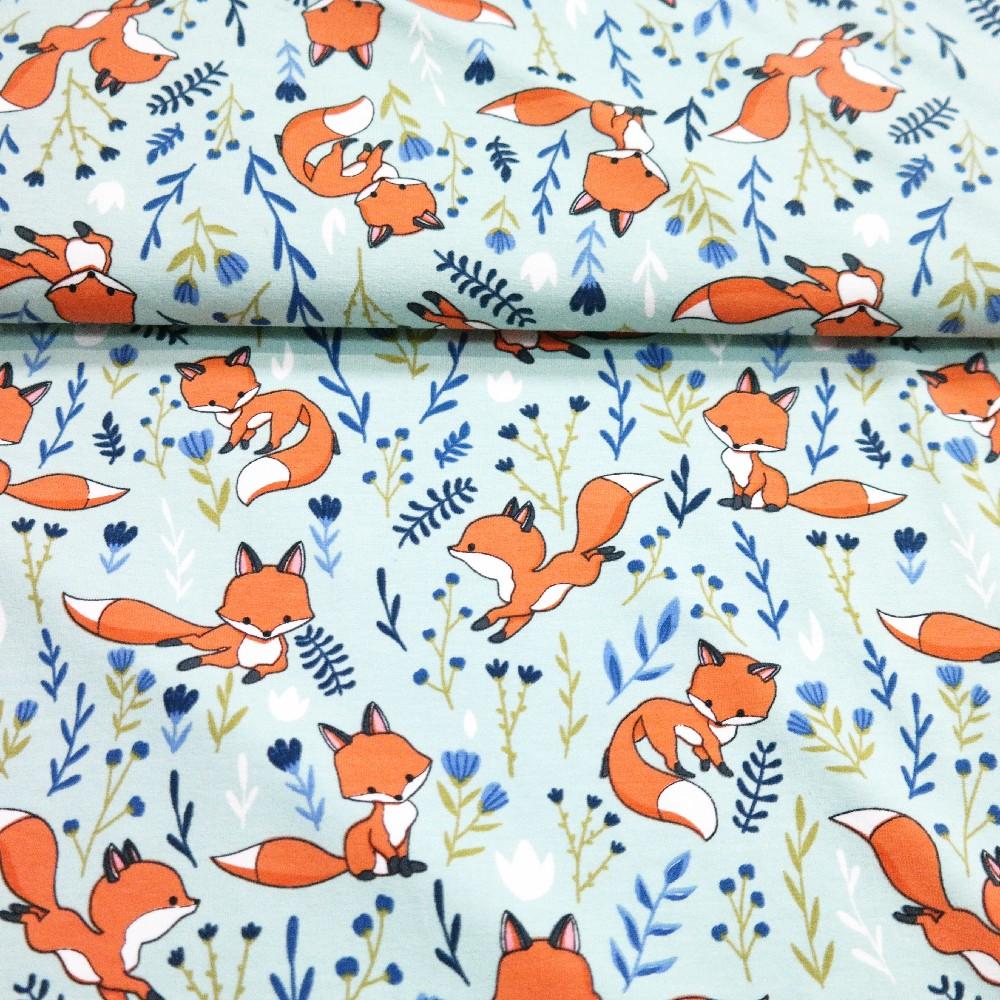 úplet sv.modrý lišky