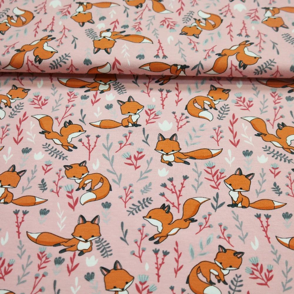 úplet sv.růžový lišky