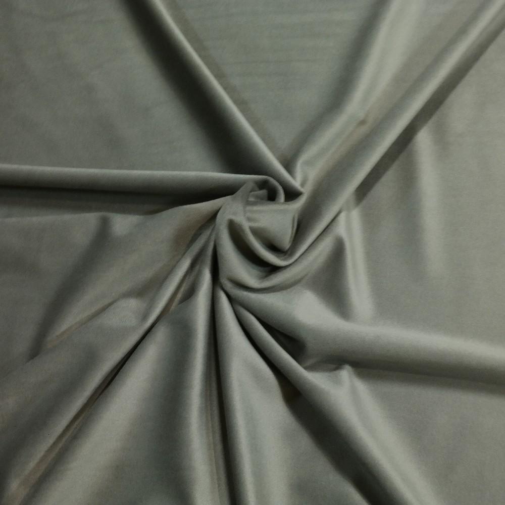 velur hnědo-šedý