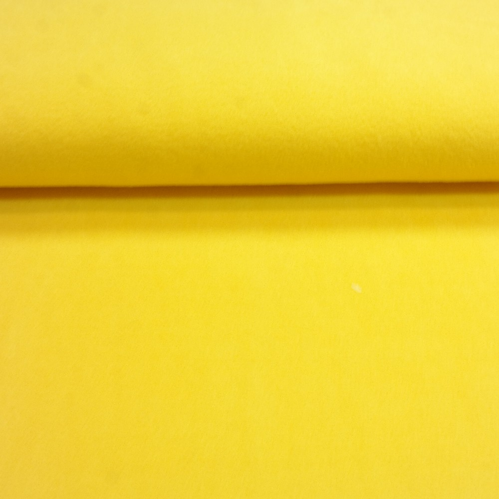 fleece citron.žlutý